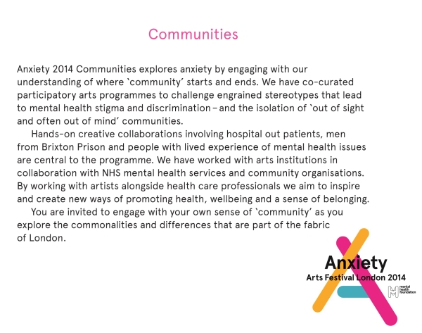Communities_Programme_Anxiety_Arts_Festival_London_2014_Anna_B_Sexton_June_2014